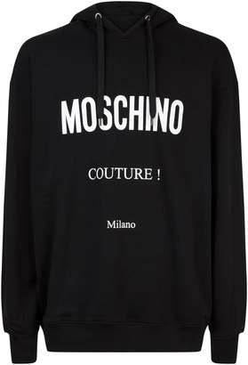 Moschino Logo Hoodie