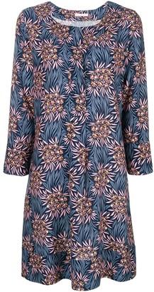 Kristina Ti flora print mini dres