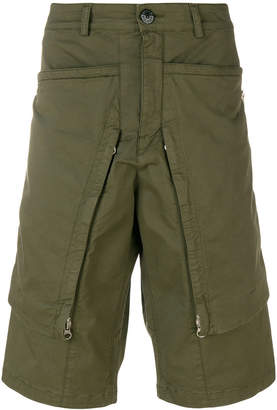 Stone Island Shadow Project long pocket shorts
