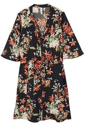 MANGO Flower print dress