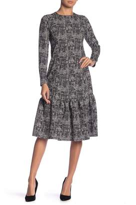 Couture Go Patterned A-Line Dress