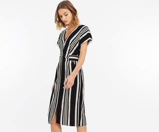 Oasis STRIPE WIGGLE DRESS