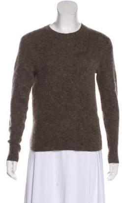 Acne Studios Mohair-Blend Crew Neck Sweater