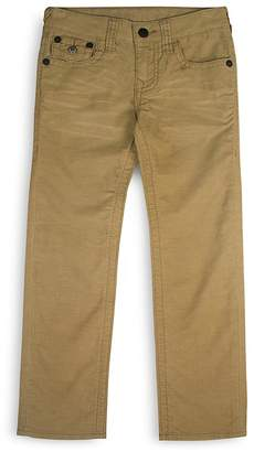 True Religion Boys' Geno Relaxed Slim Classic Cords - Little Kid, Big Kid