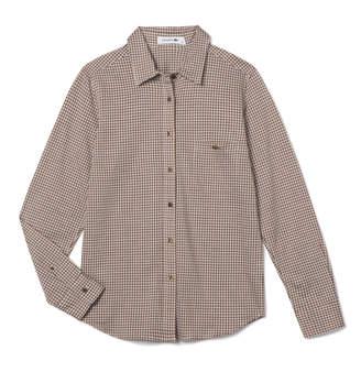 Lacoste (ラコステ) - ギンガムチェック シャツ (長袖)