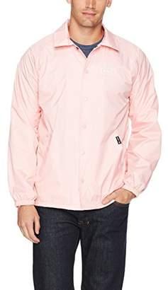 HUF Men's Bar Logo Coaches Jacket