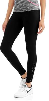 Laundry by Shelli Segal French Laundry Women's Active Body Control Legging with Laceup Ankle Detail