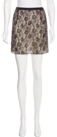 Miu Miu Miu Miu Lace Mini Skirt w/ Tags