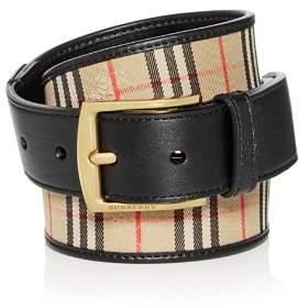 Burberry Gray 1983 Check Belt