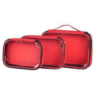 Kathmandu NEW 3 Clear View Packing Cells Travel Luggage Packs Storage Bags