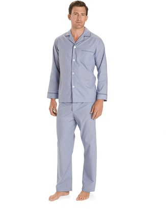 Brooks Brothers Wrinkle-Resistant Broadcloth Pajamas