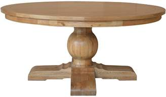 Leyna Round Dining Table Natural Oak