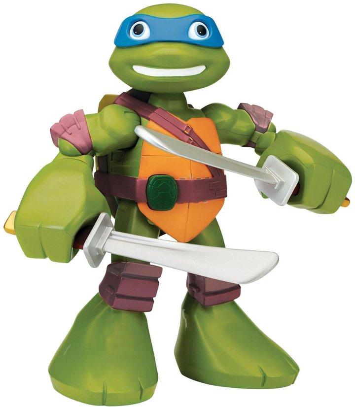 """Teenage Mutant Ninja Turtles PreCool Half Shell Heroes 12"""" Mega Mutant Leonardo"""