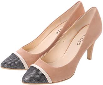 UNTITLED (アンタイトル) - アンタイトル シューズ UNTITLED shoes 素材切り替えパンプス UT6325