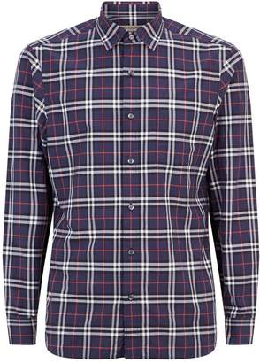 Burberry Long Sleeve Check Shirt