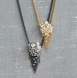 Kate Wood Jewellery Pearl Tassel Pendant