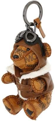 MCM Bear Faux Leather Bag Charm