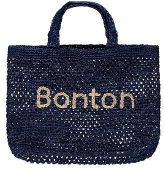 Bonton Straw Shopper