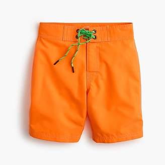 J.Crew Boys' board short in bright orange