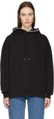 Acne Studios SSENSE Exclusive Black Yala As Rib Hoodie