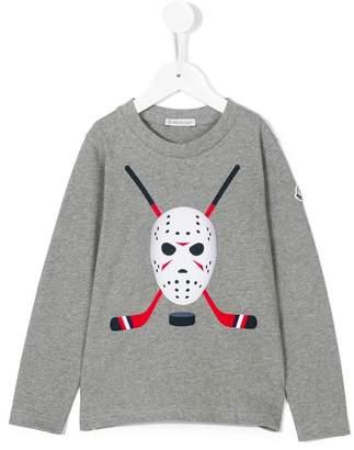 Moncler golf clubs print sweatshirt