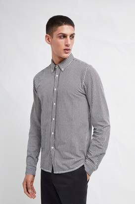 French Connenction Micro Stripe Jersey Shirt