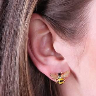 Ble Bee Lisa Angel Enamel Blebee Stud Earrings