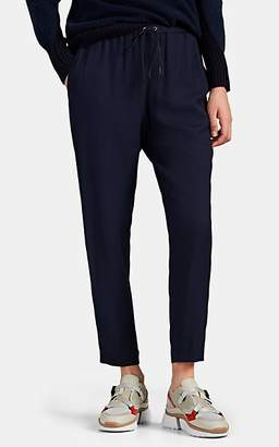 Pas De Calais Women's Pinstriped Drawstring Pants - Navy