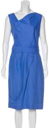 Thakoon Printed Draped Dress
