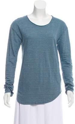 Etoile Isabel Marant Linen Long Sleeve Top