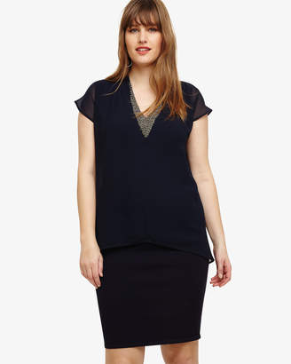 Phase Eight Fiamma Double Layer Dress