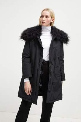 ae542de7cdc83 ... Marlow French Connenction Utility Faux Fur Collar Parka
