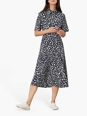 Joules Carla Maxi Dress, French Navy