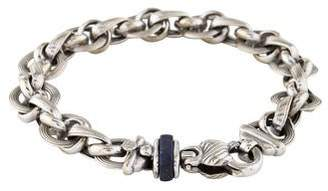Lapis 14K Lazuli Link Bracelet