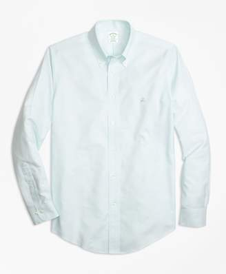 Brooks Brothers Non-Iron Milano Fit Supima Cotton Oxford Sport Shirt