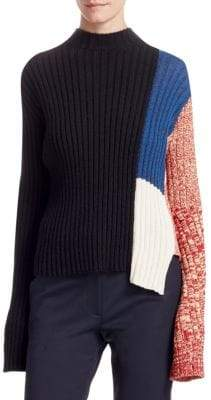 Calvin Klein Abstract Melange Knit Top