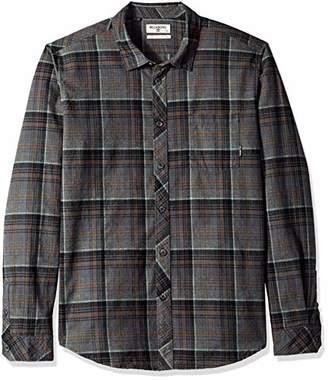 Billabong Men's Flannel Long Sleeve Shirts