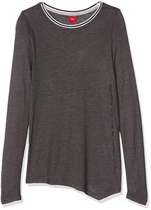 S'Oliver Girl's 66.707.31.6956 Longsleeve T-Shirt
