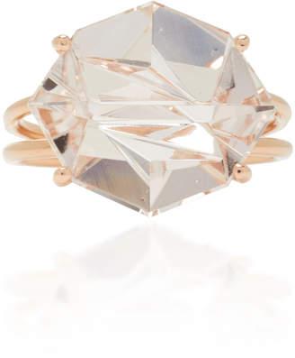 MISUI 18K Rose Gold Morganite Ring