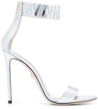 Grey Mer heeled sandals