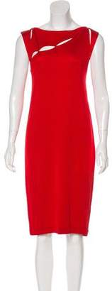 Bottega Veneta Cutout Midi Dress