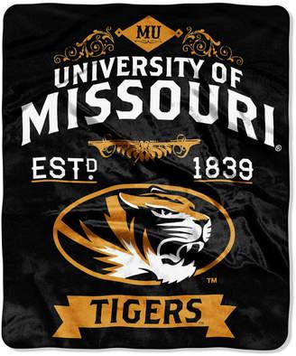 Northwest Company Missouri Tigers Raschel Rebel Throw Blanket