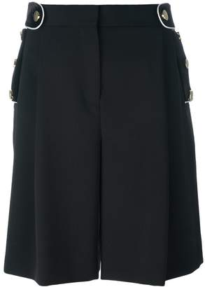 Givenchy wide leg shorts