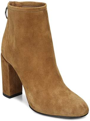 Via Spiga Women's Nadia Suede High Block Heel Booties