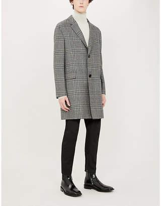 Lanvin Checked wool coat