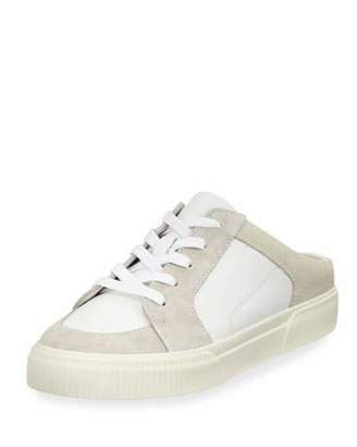 Vince Kess Mixed Leather Mule Sneakers