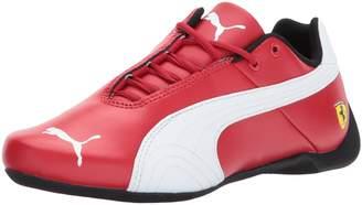 Puma Unisex-Kids Ferrari Future Cat Sneaker, Rosso Corsa White