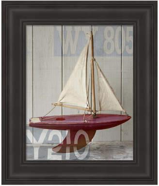 Metaverse Sailboat Ii by Symposium Design Framed Art