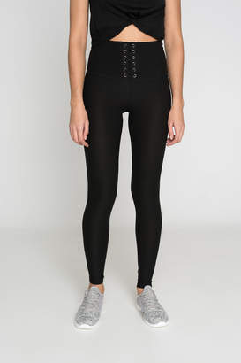 Ardene Front Lace Up Leggings