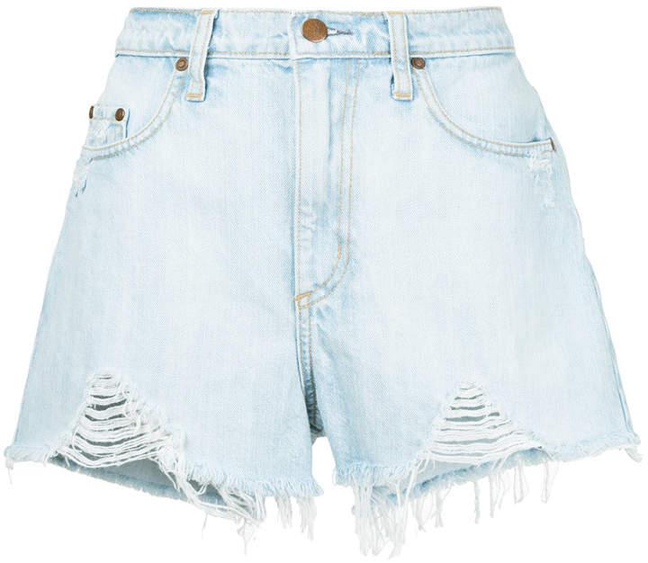 Nobody Denim 'Skyline Raw Short Vanish' Jeans-Shorts